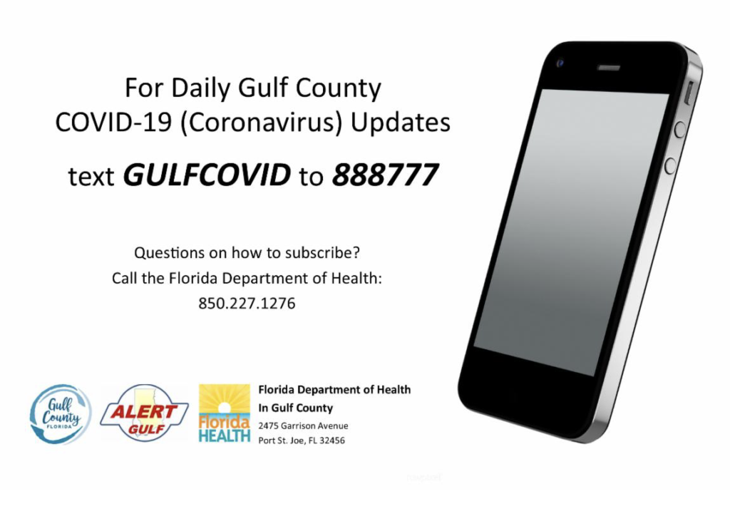 Gulf county COVID-19 daily updates